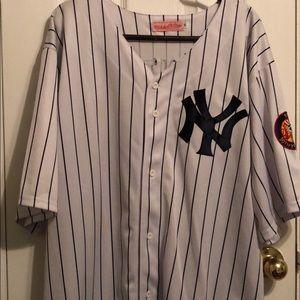 Mickey Mantle Baseball Jersey